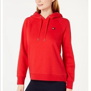 Tommy Hilfiger NWT sport sweater small red